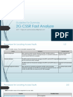 Guideline for Dummies 2G - CSSR Fast Analyze