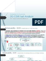 Guideline for Dummies 2G - CDR Fast Analyze