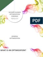 3G UMTS Huawei Forensic Optimization