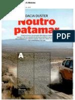 """NOVO DACIA DUSTER NA """"CARROS & MOTORES"""""""