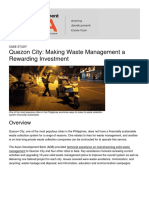 Quezon City Making Waste Management a Rewarding Investment - 2017-09-12