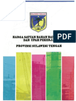 Harga Satuan Bangunan Sulawesi Tengah Tahun 2017