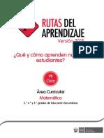 RUTAS 2015 Documentos Secundaria Matematica-VII
