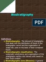 3- Biostratigraphy 2014 - Dr. M.abdelbaset - Suez Canal Univ.