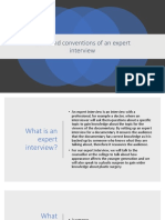 code and conventions of an expert interview.pptx