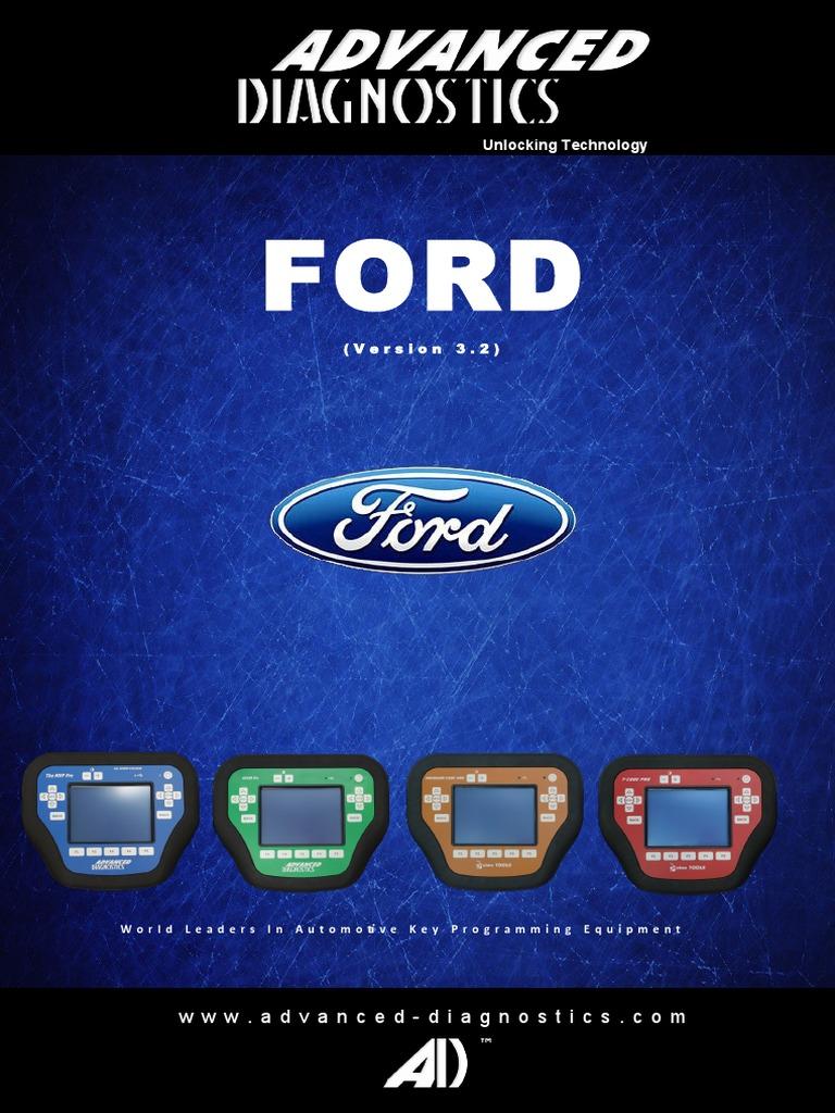 Advanced Diagnostics Ford Manual-Ford | Ford Motor Company | Diesel
