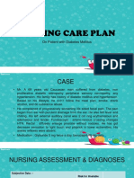 Nursing Care Plan Ppt
