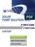 FRECON Solar Pump Solution 2016 en V1 0.1