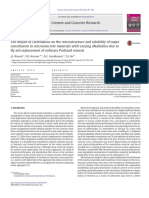 The Impact of Carbonation on the Microstructure and Solubility Of