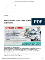How to reduce cyber crime in india _ Indian Cyber army – Indian Cyber Army™