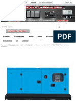 DIMENSIUNI Generator Curent Electric DeWerk ESE 40 DDP, 40 KVA, Diesel, Trifazat, Automatizare