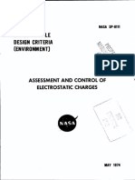 NASA - Sp8111 - Space Vehicle Design Criteria - Assessment and Control of Electrostatic Charges