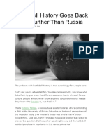 Kettlebell History Goes Back Much Further Than Russia