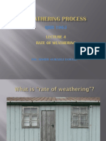 Lect 4 Weathering Rate