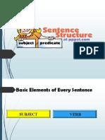 Sentence Structure FINALpptgr8