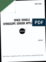 NASA - sp8096 - Space Vehicle Design Criteria - Space Vehicle Gyroscope Sensor Applications.pdf