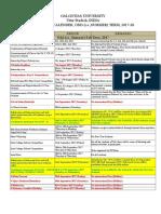 Academic Calendar Details_Fall Semester_2017-18