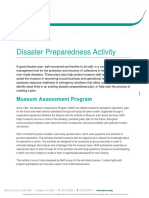 Disaster Planning Activity