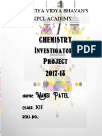 Chemistry Investigatory project on Casein