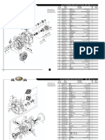 (Tranmission Part) Parts List-IC Forklift 4-5T