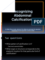 12.Abdominal Calsifications