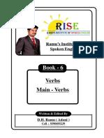6. Main Verbs.