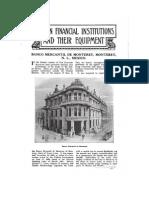 Banco Mercantil de Monterrey 1909