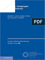 (London Mathematical Society Student Texts 88) Derek F. Holt, Sarah Rees, Claas E. Röver-Groups, Languages and Automata-Cambridge University Press (2017)
