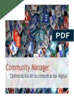 Community Manager m2 PDF