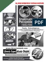 10_CATALOGO INSTRUMENTOS PSICOPEDAGOGICOS 2010