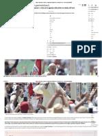 Papa Francisco_ Esta Es La Agenda Oficial de Su Visita Al Perú - America Noticias