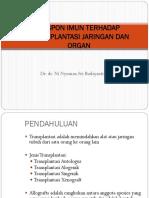 Tissue Transplantation Imun Rejection