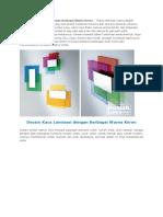 _Desain Kaca Laminasi Dengan Berbagai Warna Keren