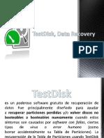 TestDisk, Data Recovery