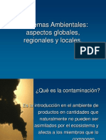 Aspectos Generales de Contaminacion