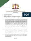 Media Statement Public Protector January 18, 2018