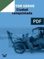 Serge, Victor - Ciudad Conquistada [41767] (r1.0)