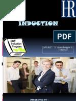 Induction Program of Employee
