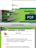 Aula 01 Hardware Software