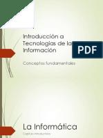 Introducción a la ingeniería informatica