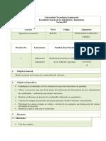 Informe Equipos Medidor de Presión y Inyectores