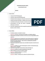 Evaluación POA 2017