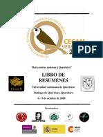 IX Congreso Para El Estudio y Conservacion de Las Aves en Mexico 2009