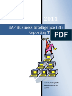 Business Intelligence Training Manual