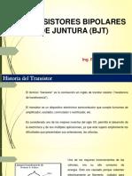 Transistores Bipolares de Juntura v2