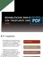 Rehabilitacion Para Pacientes Con Trasplante Cardiaco 2009