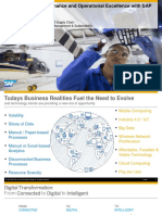 SAP Forum1 - Increase Plan Performance and Operational Excellence