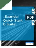 EXAN-SLS-001 Propuesta Comercial Quick Start G Suite Basic Para Exandal
