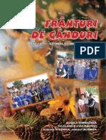 Revista FRÂNTURI de GÂNDURI, ANUL IV, Nr 11 / 2017