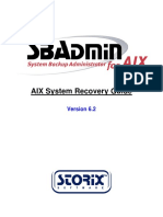 Aix Recovery Guide